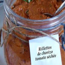 Rillettes de chorizo tomates séchées