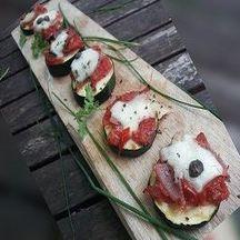 Mini pizzas aux courgettes