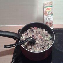Poêlée de viande hachée et légumes à l\'orientale