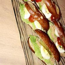 Sandwich bretzel