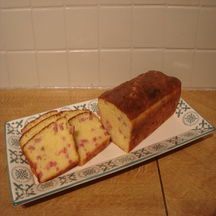 Cake au bacon & comté