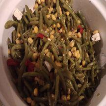 Salade de haricots verts à la feta