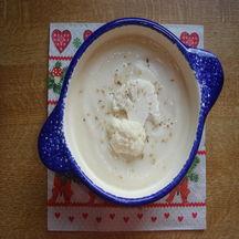 Crème de chou-fleur coco-sésame