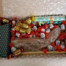 Caler l'intérieur de vos colis de Noël