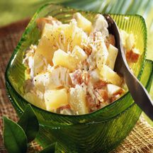 Salade de crabe à la mangue