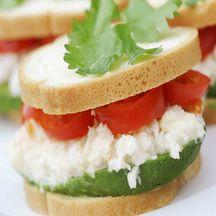 Sandwich crabe avocat