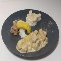 Poulet ananas coco