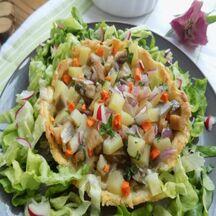 Tartelettes harengs pommes de terre