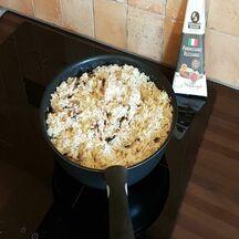 Risotto champignons/parmesan