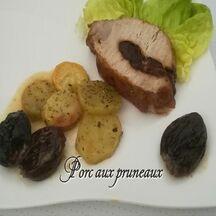 Filet de porc aux pruneaux