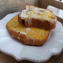 Brioche au sucre façon pain perdu