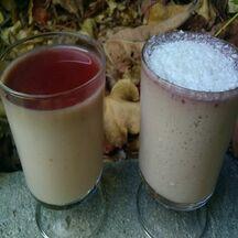 Panna cotta au pralin, caramel et noix de coco