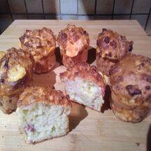 Muffins façon raclette