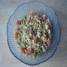 Salade de blé au crabe avocat & pamplemousse