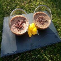 Mousse au chocolat veggie et anti-gaspi (sans oeufs)