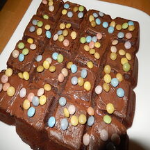 Brownie aux smarties