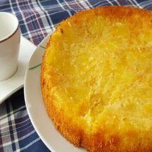 Gâteau ananas frais