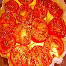 Tarte à la tomate à la feuille de brick