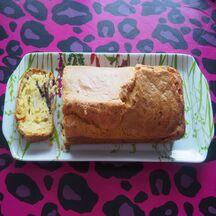 Cake à la sardine sans gluten