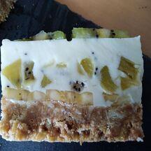 Cheesecake kiwis / bananes sans cuisson