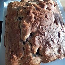 Gâteau aux mûres et coco