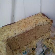 Gâteau à la cannelle et aux groseilles