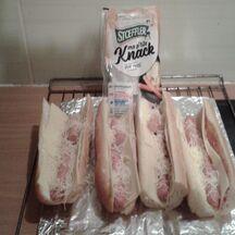 Hot dog version gratiné