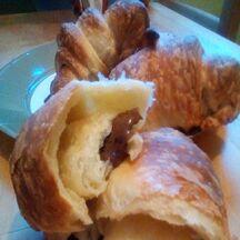 Croissants briochés feuilletés au Nutella