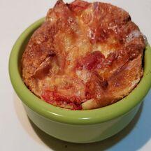 Clafoutis tomates camembert