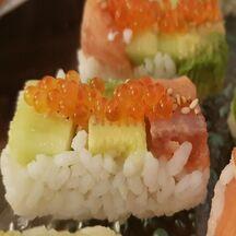 Sushi façon nigiri maison