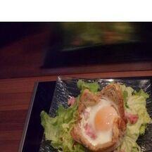 Salade avec son petit panier