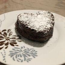 Fondant au chocolat coeur fruit rouge des coulants