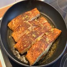 Pavés de saumon au curry