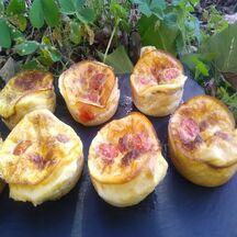 Muffins tomate cerise et féta
