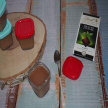 Crèmes dessert allégées chocolat menthe à la multidélices
