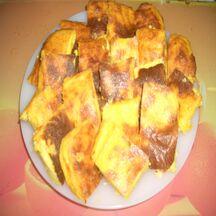 Bouchées de polenta grillées