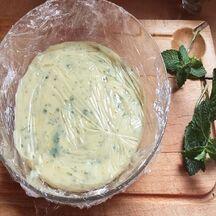 Cheesecake à la menthe et au citron vert