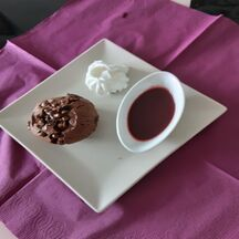 Muffins chocolat fruits rouges