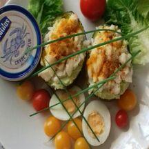 Avocat au crabe