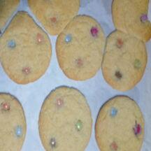 Mes smarties cookies
