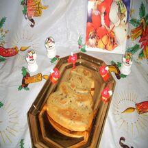 Noël aux marrons et foies de volaille accompagneront