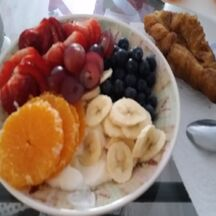 Parfait aux fruits