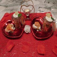 Pour l'apéritif Verrines Crevettes Avocat  Ananas et Tartinade au Saumon