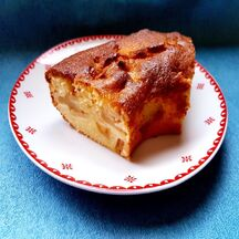 Gâteau couronne aux pommes