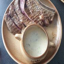Côte de Bœuf sauce au Roquefort