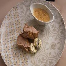 Filet mignon sauce roquefort