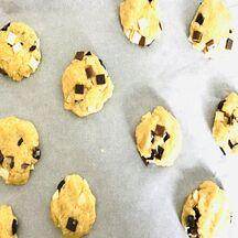 Cookies gourmands aux maxi pépites 3 chocos