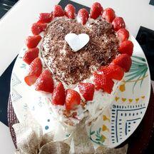 Mon fraisier en coeur