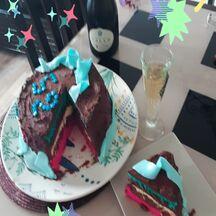 Gâteau d'anniversaire équipe de France