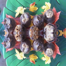 Petits gâteaux chocolat/brugnons